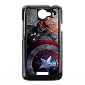 Captain America HTC One X Phone Case Black white Gift Holiday Gifts Souvenir Halloween Gift Christmas Gifts TIGER157515