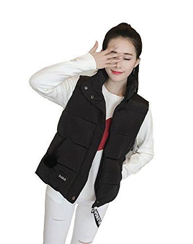 苛性届ける平和な「ReiRei」レディースファッション冬服ベストダウン 中綿 ポケット ベスト ノースリーブ パーカー 冬 ベスト 厚手生地 中綿入れ ベスト