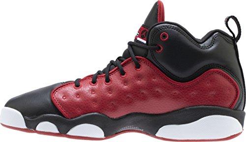 Jordan Kids Jumpman Team II GS Gym RED Gym RED Black White Size 3.5 by Jordan (Image #2)