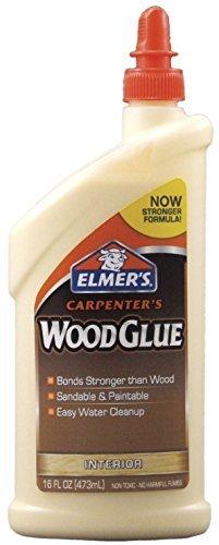 Elmer's E702 Carpenter's Wood Glue 16-Ounce by Elmer's
