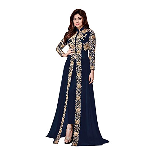 Bollywood Collection Pakistani Anarkali Salwar Suit Bridal Wedding Ceremony Punjabi Muslin Eid 651 6