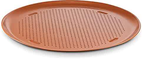 Ceramic Coated Copper Pizza Pan 16