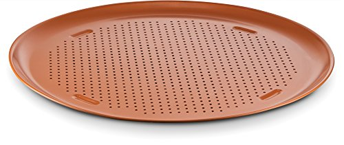 Ceramic Coated Copper Pizza Pan 16