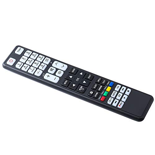 TV Remote Control Universal for LG,Sony,Samsung,Panasonic,Toshiba,Philips,Hisense,Sharp,Grundig TVs,Black (Remote Control Universal)