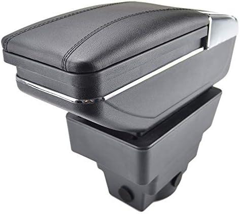 Drehbare Armlehne Für Astra J 2009 Gegenwartschwarz Gewinde Aufbewahrungsbox Armlehne Black With Black Thread Auto