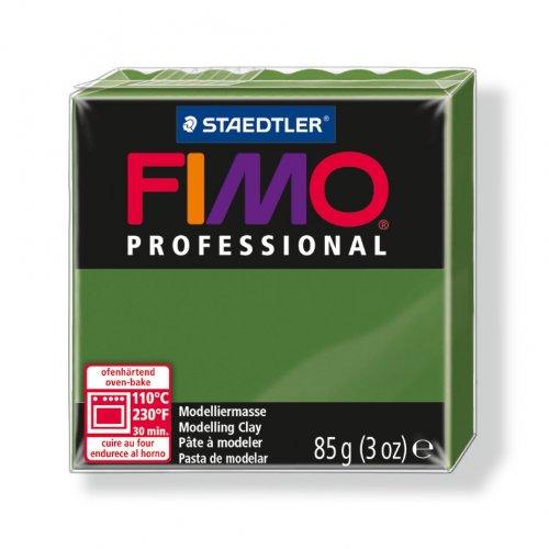 Polymer Clay Fimo Professional 85gr Leaf Green (n°57) Staedtler