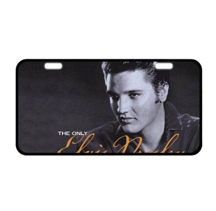 Durable Cool Metal License Plate - Elvis Presley ()
