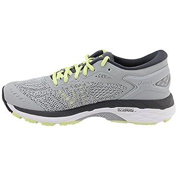 Asics Womens Gel-kayano 24 Glacier Greywhitecarbon Running Shoe - 10 3