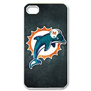 Hjqi - Personalized Dolphin Phone Case, Dolphin DIY Case for iPhone 4,4G,4S