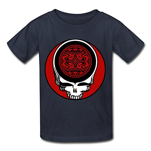 Price comparison product image LUYI Kid's Gov't Mule T Shirts XL Navy