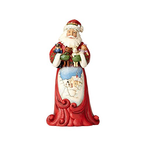 Enesco Jim Shore Hwc Fig Santa Hugging Stuff