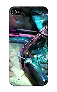 Blackducks Anti-scratch And Shatterproof Rising Phone Case For Iphone 5/5s/ High Quality Tpu Case