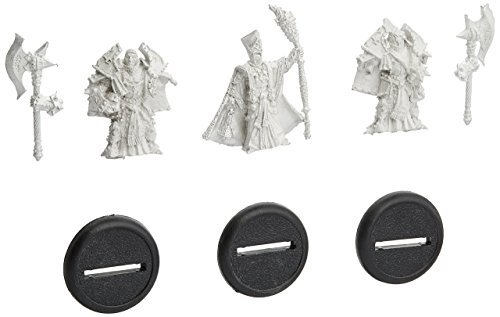 Privateer Press Protectorate of Menoth - Visgoth Rhoven and Bodyguards Model -