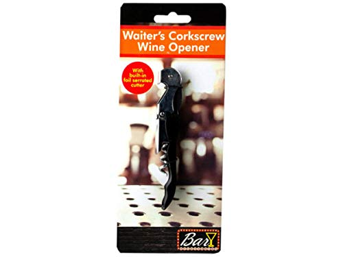Waiter039;s Corkscrew Wine Opener - Pack of 24 from Handy Helpers