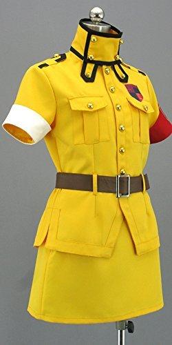 [Onecos Hellsing Seras Victoria Yellow Cosplay Costume] (Seras Cosplay Costume)