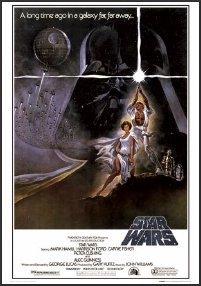 Star Wars Poster Framed New Hope Episode IV