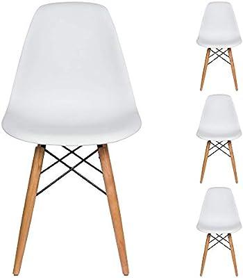 Amazon.com: Komposan USA Liani Mid Century - Silla moderna ...