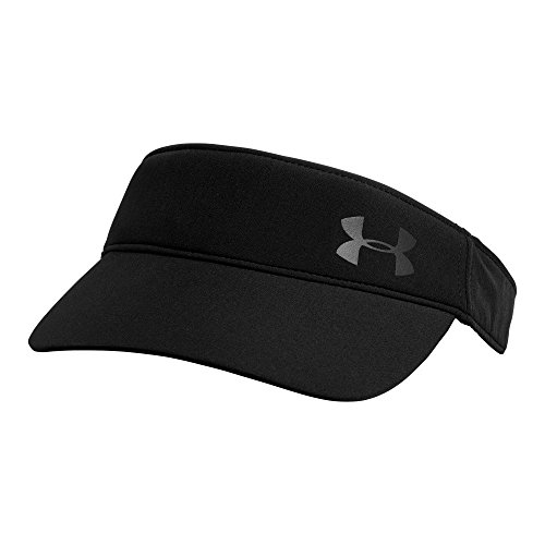 Under Armour Women's Fly Fast Visor, Black/Black, One - Visor Running Women