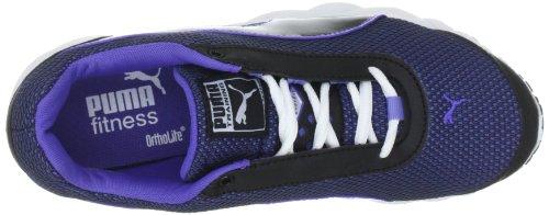Puma - Zapatillas de deportivo para mujer, tamaño 42,5 UK, color teaberry red-whi Black-Steel (Black-Steel)