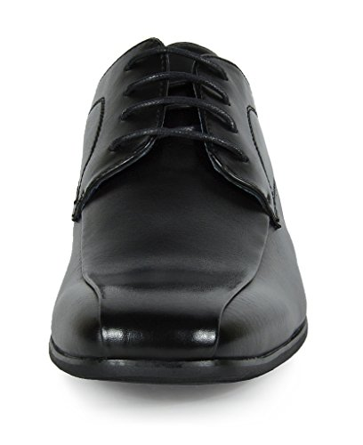 Bruno MARC GORDON-05 Men's Formal Classic Snipe Toe Lace ...