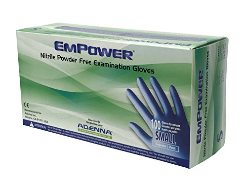 Adenna Empower Nitrile Powder Gloves