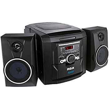 Amazon Com Rca Rs22162 5 Disc Cd Audio System With Am Fm