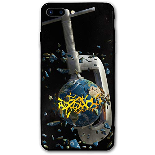 Earth Planet Debris Imagination iPhone Case Compatible for iPhone 7/8 Plus,Luxury Ultr-Thin PC Back Protect Case for iPhone 7/8 Plus ()