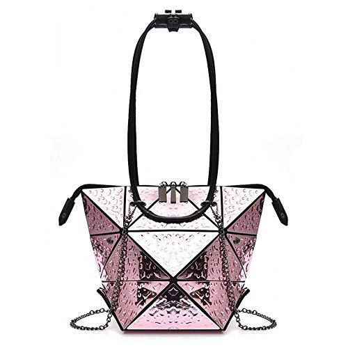 À Mode Sac Pink Nouvelles À Main Main Mzdpp Chaine De Rhombique Casual Couleurs Sac 6 BCxqdIw