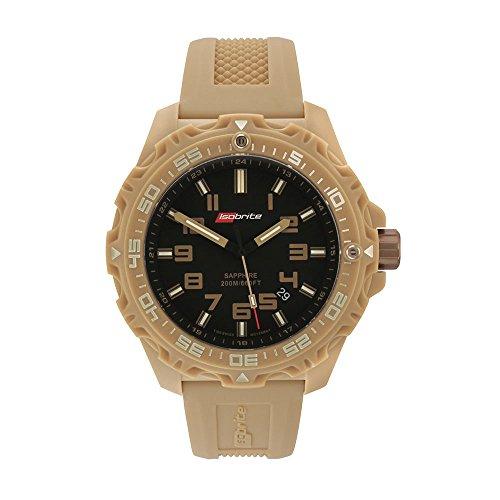Isobrite ISO304 Valor Series Tan/Black T100 Tritium Watch