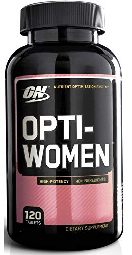 Optimum Nutrition 120 Opti-Women Women's Female Multivitamin Optiwomen Capsules
