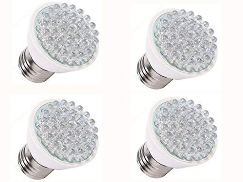 JKLcom LED Grow Lights Plant Grow Light Bulbs 2W Grow Light