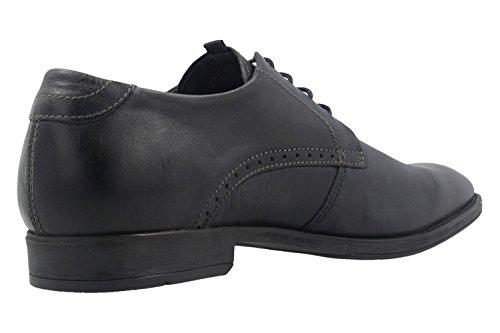 camel active  474.11.03, Chaussures de ville à lacets pour homme bleu bleu *
