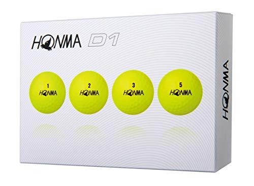Honma D1 Golf Balls 1-Dozen Yellow from Honma Golf