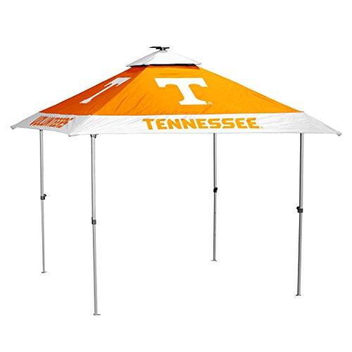 Logo Brands NCAA Tennessee Volunteers Unisex Pagoda Tent, Tangerine, One Size