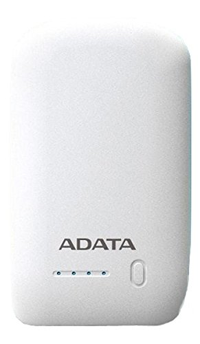 ADATA AP10050-DUSB-5V-CWH Bateria de Litio Recargable de 10050 mAh, Color Blanco