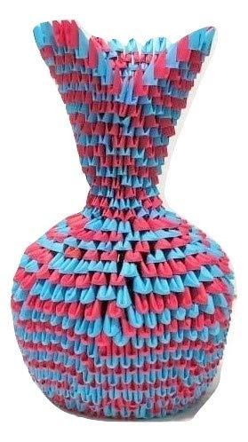 3D Origami Vase V2 Tutorial | DIY Paper Flower Vase Home ... | 498x279