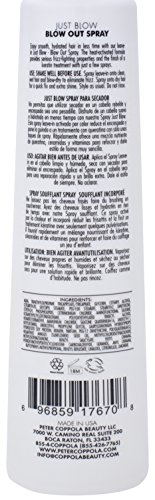 PETER COPPOLA JUST BLOW Blow Out Spray 6 oz with 2 oz Travel Size DUO by Peter Coppola (Image #6)