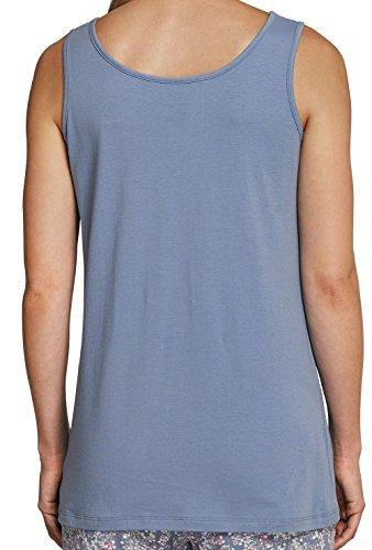 Schiesser Damen Tank, camisa sin mangas, jersey simple S-XL - selección de color Weiß