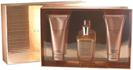 Unforgivable Woman by Sean John Fragrances 3 Piece Set Includes: 4.2 oz Eau de Parfum Spray + 3.4 oz Bath & Shower Gel + 3.4 oz Body Lotion