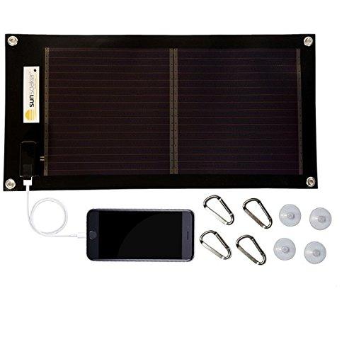 Cargador Solar Portatil de 5 Watts de Salida SUNSOAKER