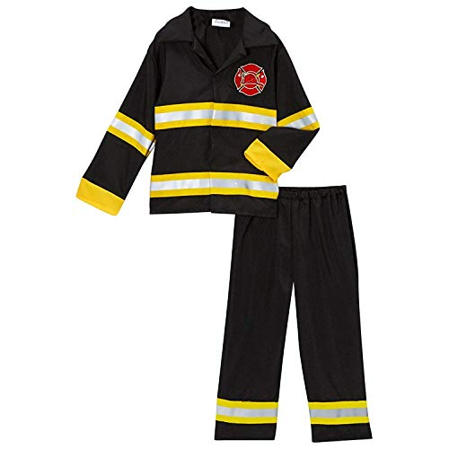 Storybook Wishes Fireman Fire Fighter Halloween Dressup Costume, Size 2/4 -