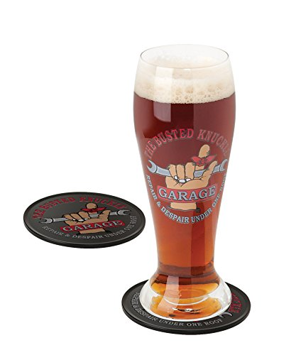 Busted Knuckle Garage BKG-78702 Pilsner Gift Set ()