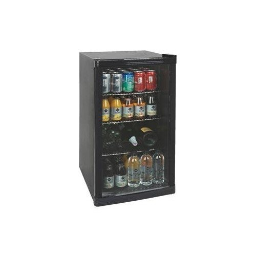 Undercounter Cooler Refrigerator - Also, Known as the Drinks Chiller, This Cooler Refrigerator Features a Tempered Glass Door. It is Perfect to Use in A Restaurant, Café, Club or Bar as a Mini Fridge. It is also Ideal for Catering or Commercial Use Icepoin