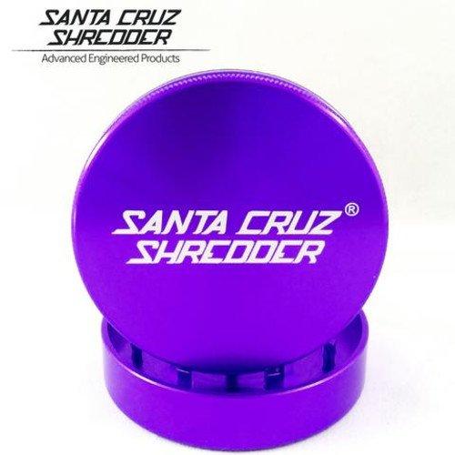 SANTA CRUZ SHREDDER - SMALL 2 PIECE GRINDER PURPLE 1.625
