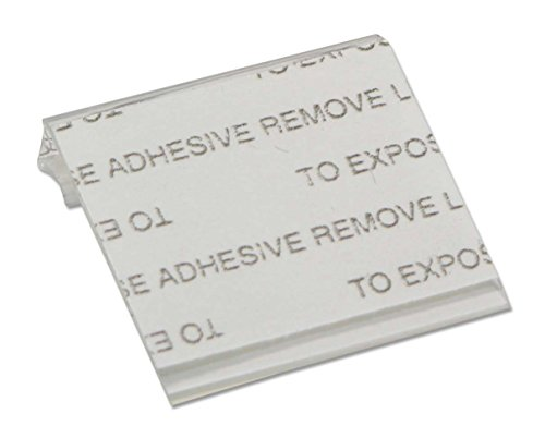 JewelrySupply Self-Adhesive Earring Card Adapter 1x1 (Package of 100)