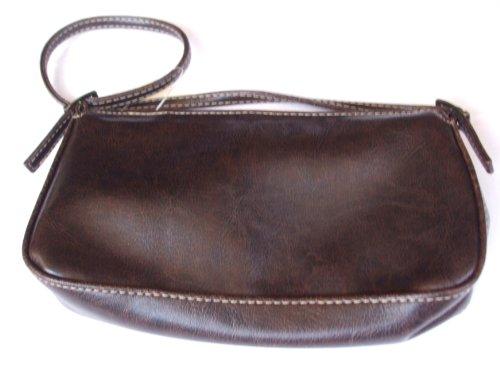 Señoras pequeño marrón noche bolsa nueva