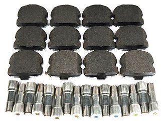 ACDelco 171-0959 GM Original Equipment Front Disc Brake Pad Kit with Brake Pads and Bolts ()