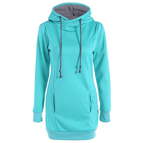 Lurryly Mens Winter Jackets,Orange Sweater Women,Womens Winter Coats,Hooded Blankets for Adults,Anime Hoodie,Halloween Hoodies for Men,Womens Pullover Sweaters,❤Sky Blue❤S ()