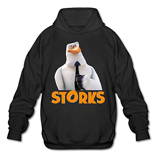 [PHOEB Mens Sportswear Drawstring Hooded Sweatshirt,US Buddy Comedy Film Black Medium] (Crosby Halloween Costume)