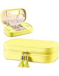 Amazoncom Yellow Jewelry Boxes Jewelry Boxes Organizers